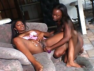 Amazing amateur big racked black nympho loves some masturbation