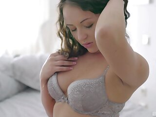 Adorable babe Avery enjoys getting fucked by her handsome BF