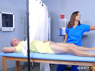 Nurse Kelsi Monroe goes alongside an kinky treatment method