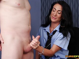 Be enduring office MILF is set more swallow