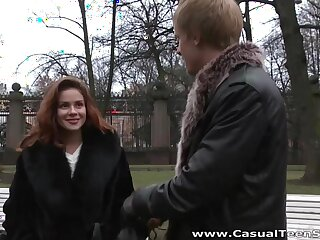 Casual sexual intercourse with amateur Russian student Emma Subfusc