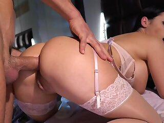 It's a through-and-through morning almost wake husband up and make anal love