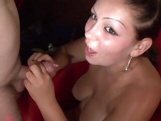 Naughty amateur babe Sandy swinger party