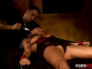 Hardcore BDSM domination of Winni leads to must-see spanking & screwing GP1198
