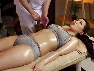 Comely Japanese MILF Ai Sayama in kinky porn video in office