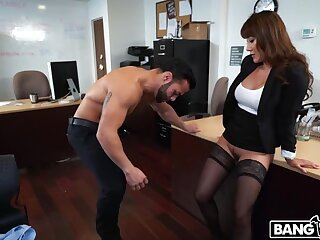 Tiffany to be sure gets fucked in her tryst