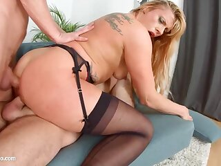 Brittany Bardot is a excellent light-haired female who luvs nigh attempt ass-fuck romp every fixture