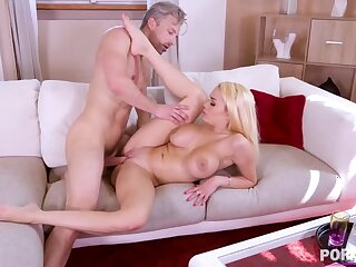Busty blonde bugger up Victoria June mamma & pussy fucked balls abysm GP1057
